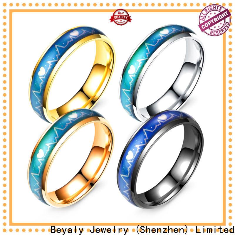 Wholesale qg titanium ring manufacturers for men