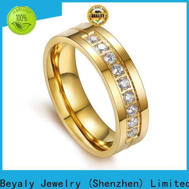 BEYALY Latest titanium engagement ring for him manufacturers for men
