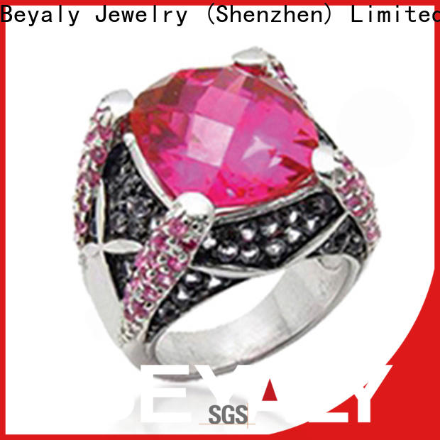 BEYALY New birthstone cross necklace bulk buy for wedding