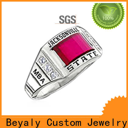 BEYALY silver jewelery men factory for wedding