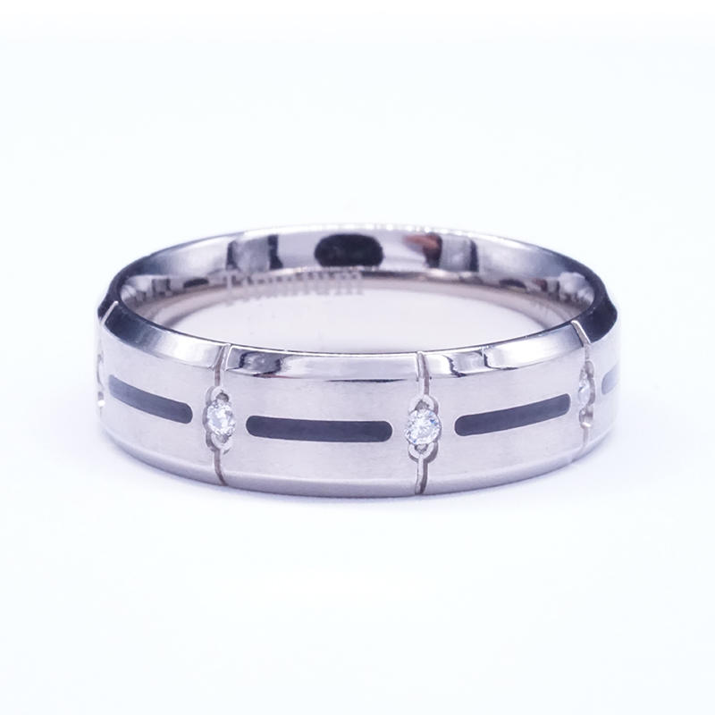 product-BEYALY-Pure Titanium Ring with Texture on Surface-img