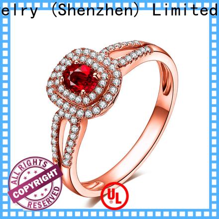 BEYALY New cubic zirconia hoop earrings bulk buy for business gift