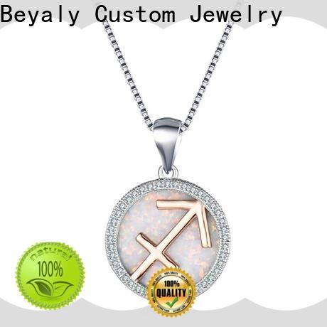 Best sterling silver iced out pendants factory for party