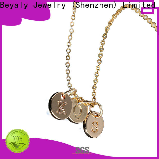 BEYALY 925 silver chain with cross pendant Supply for business gift
