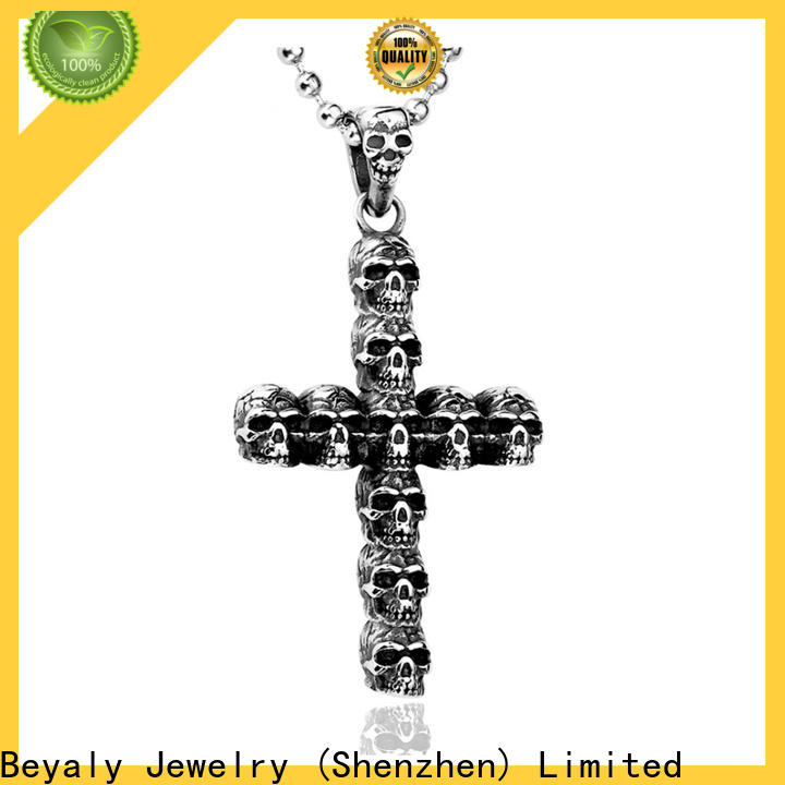 BEYALY 925 silver iced out pendant bulk buy for wedding