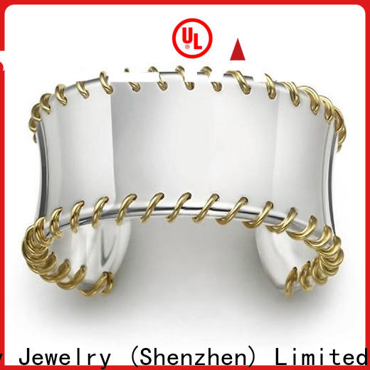 BEYALY Latest hammered bangles silver Suppliers for party