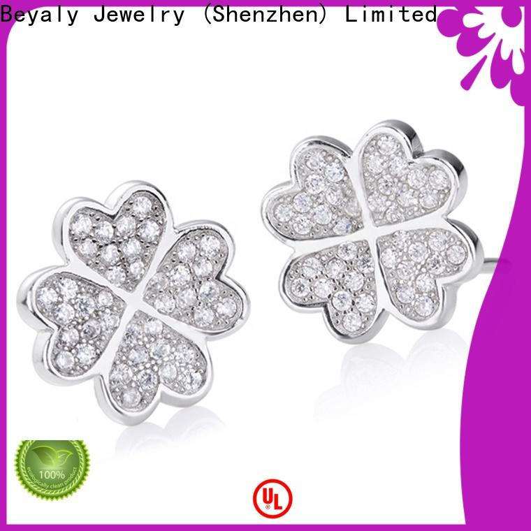 BEYALY Wholesale sterling silver gothic earrings shipped to business for decoration