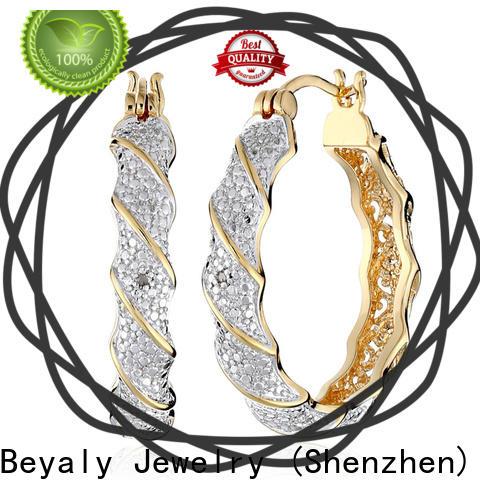 Best 925 huggie earrings Supply for business gift