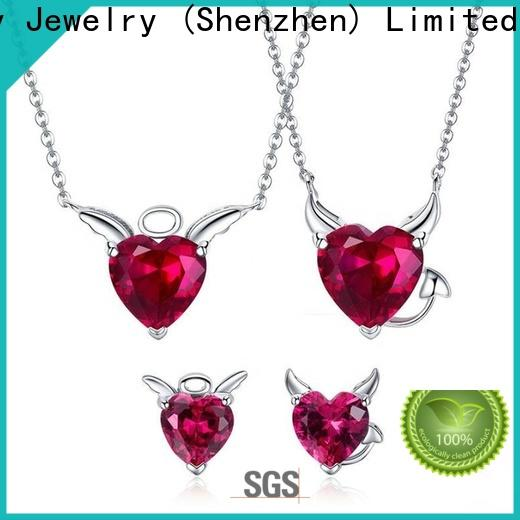 Top gold pendant set designs for female manufacturers for wedding