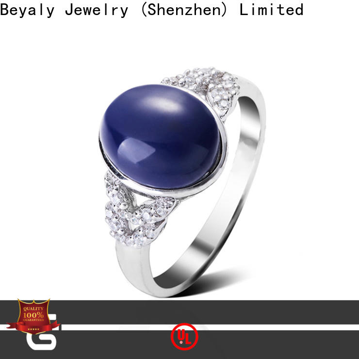BEYALY silver jewelery for men Suppliers for engagement