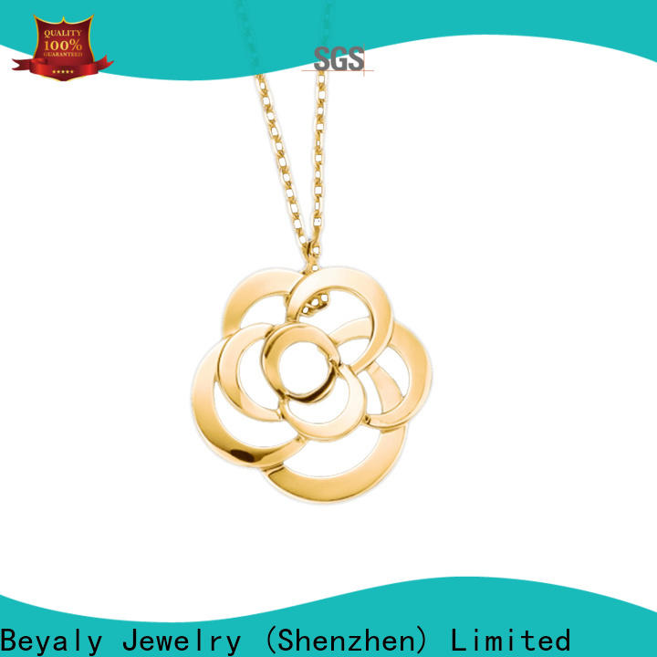 New silver 925 pendant with diamonds factory for decoration