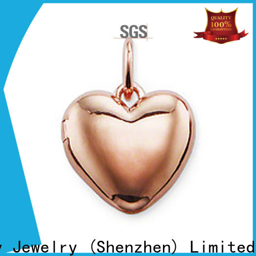 Custom 925 sun heart pendant Suppliers for decoration