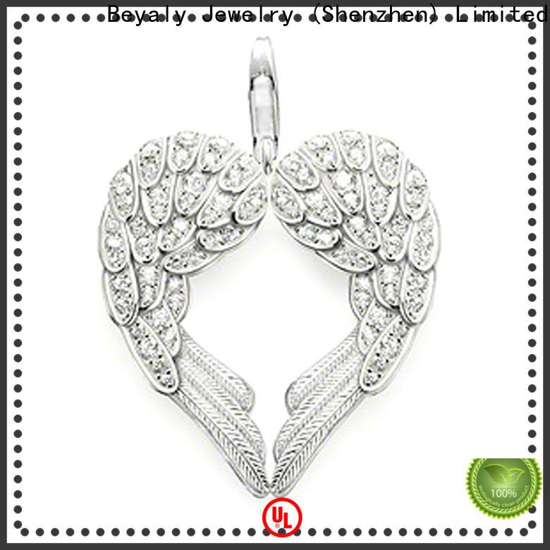 BEYALY Latest small sterling silver cross pendant bulk buy for men
