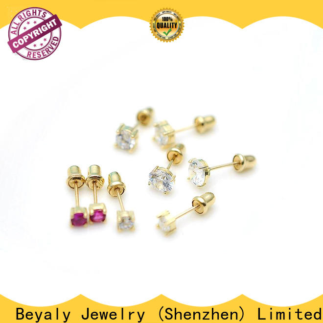 Top cz earrings wholesale factory for engagement