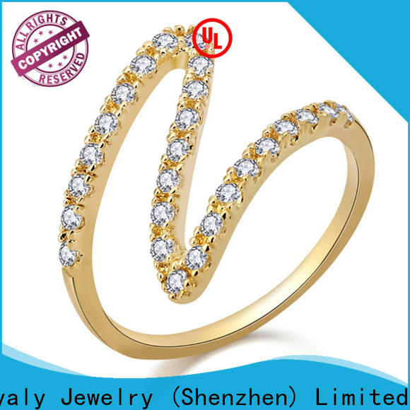 BEYALY New rose design gold ring manufacturers for business gift