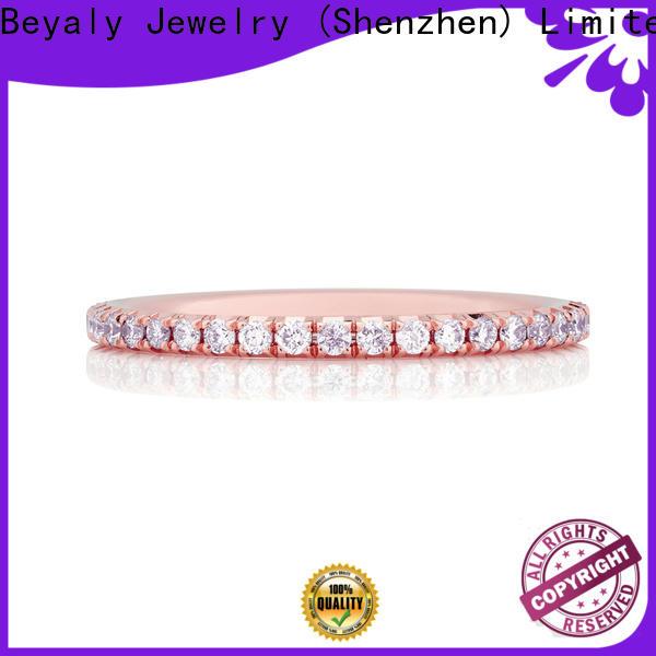 BEYALY Custom rose gold stacking ring bulk buy for party