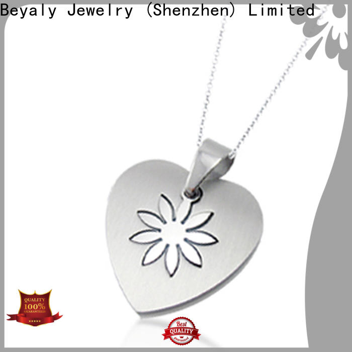 BEYALY stainless steel necklace ebay company for women