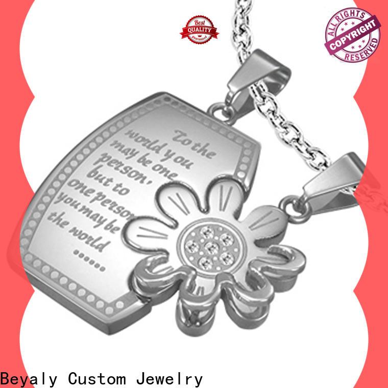 BEYALY stainless steel diamond earrings factory for men