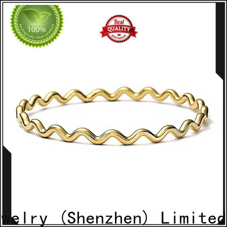BEYALY silver bangle with safety chain Supply for decoration