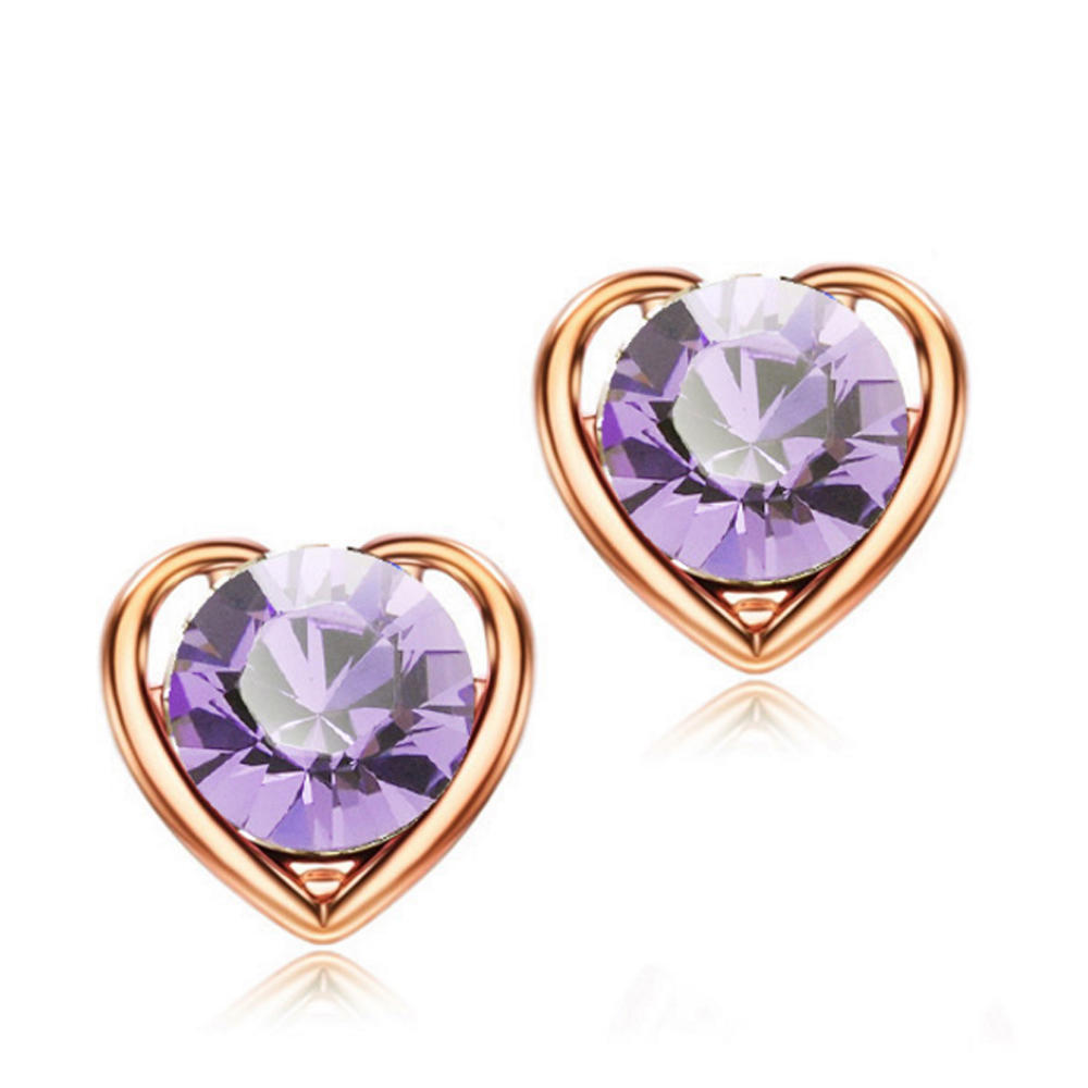 special cz earring silver sets for advertising promotion-1