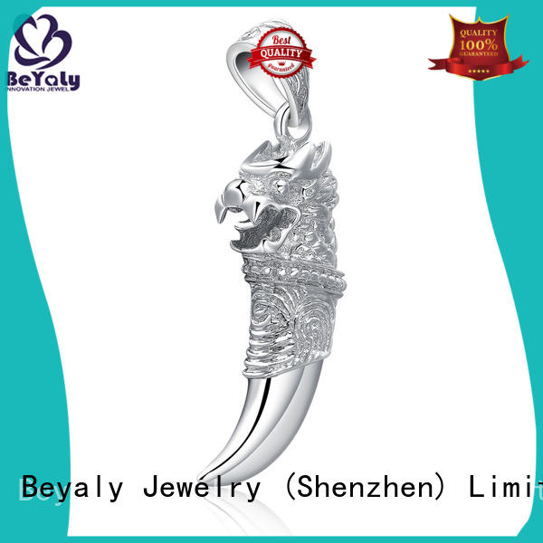 BEYALY Latest silver clover pendant Supply for ladies