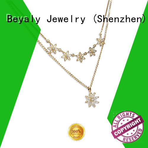 BEYALY flower pendant Suppliers for girls