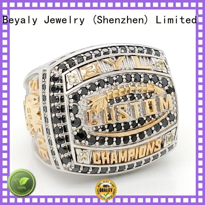 BEYALY elegant basketball championship rings for athlete