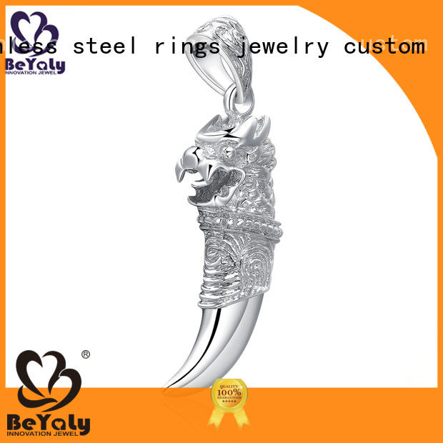 BEYALY peace clover pendant manufacturer for girls