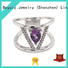BEYALY customized sterling silver ring manufacturers for wedding
