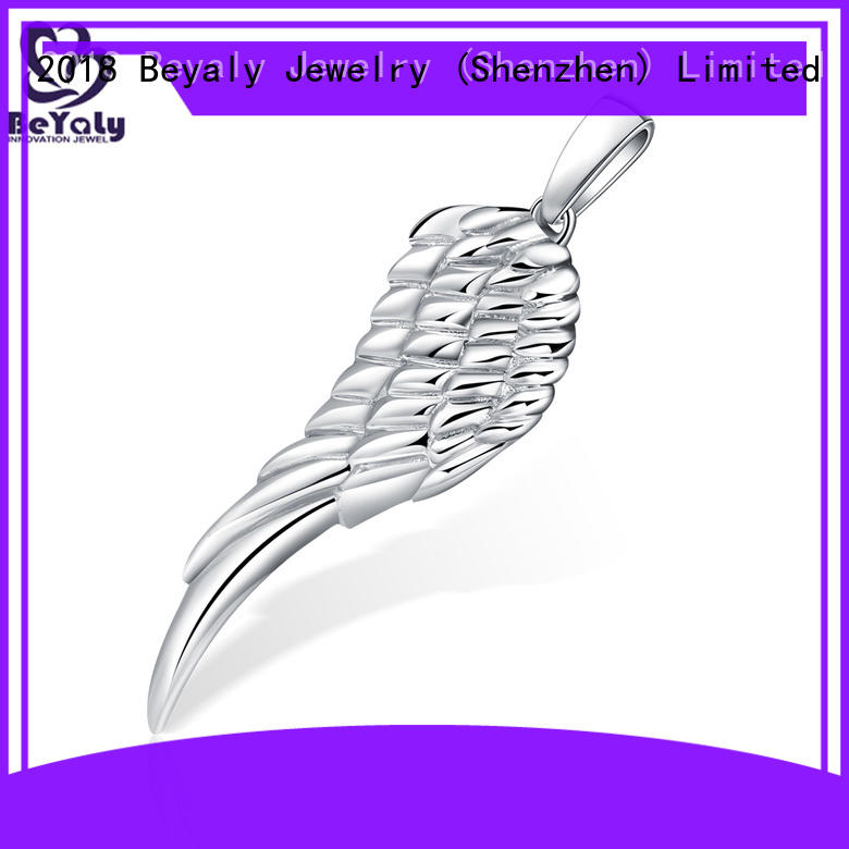 plating silver clover pendant promotion for ladies