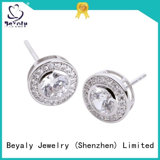 Top cz earring modern for business for advertising promotion