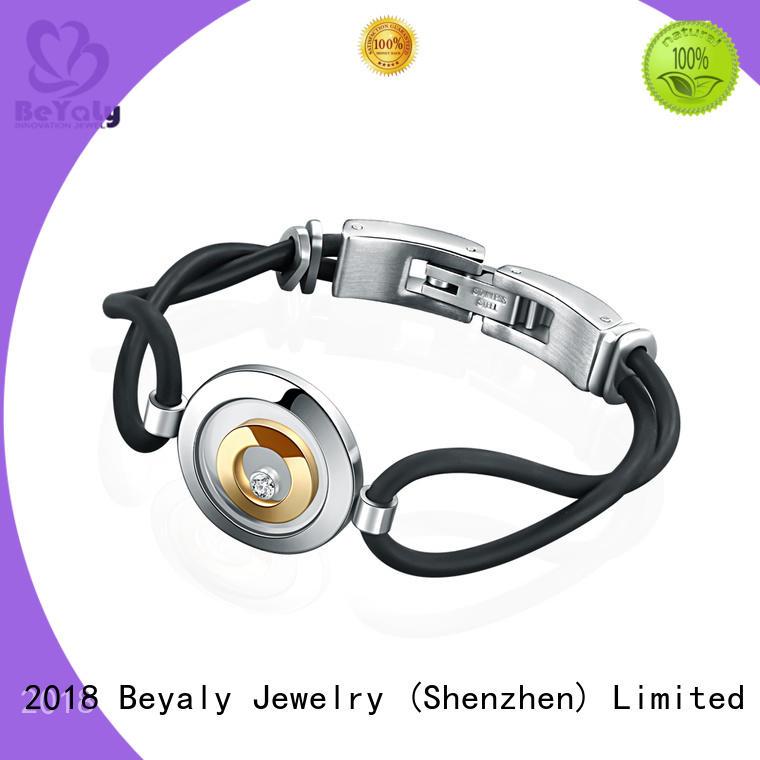 BEYALY popular cubic zirconia bracelet design for ceremony