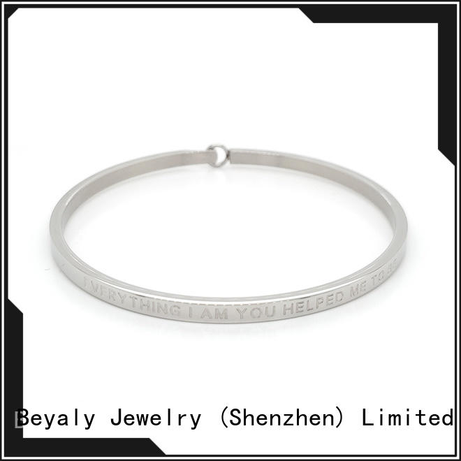 BEYALY leather gold jewellery ladies bracelet Supply for advertising promotion