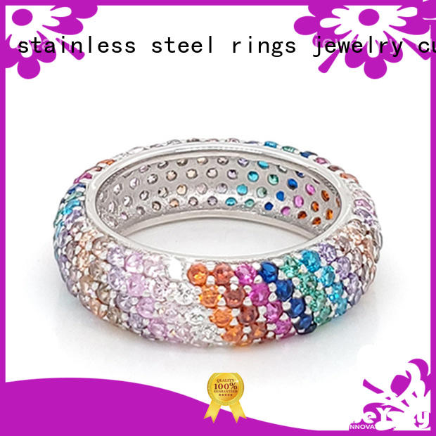 BEYALY Wholesale sterling silver cubic zirconia rings company for women