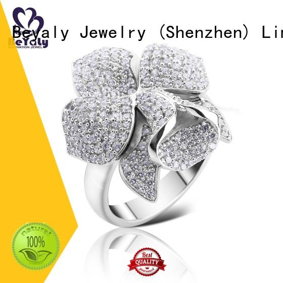 BEYALY promise initial ring company for men