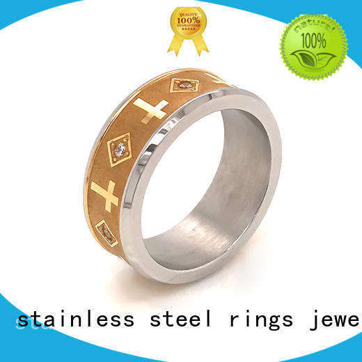 Latest sterling silver ring stone for business for women