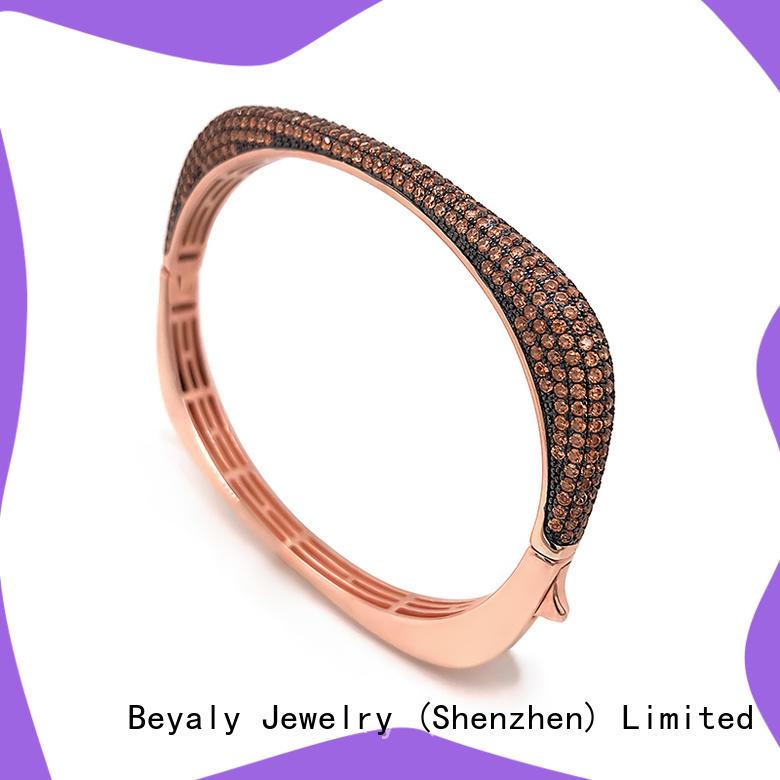 BEYALY fashion thin silver bangle bracelets company for advertising promotion
