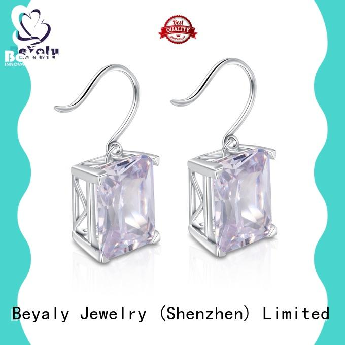 BEYALY special zircon earring Suppliers for business gift