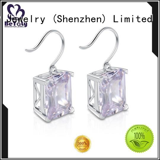 BEYALY aaa circle earring for advertising promotion