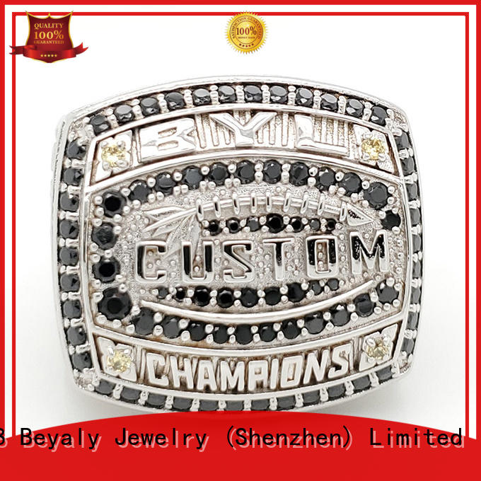 BEYALY champions champion ring promotion for national chamions