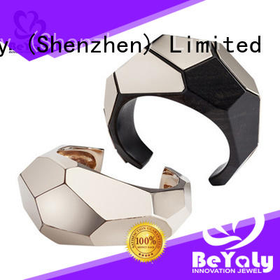fashion sterling cuff bracelets jewelry for advertising promotion
