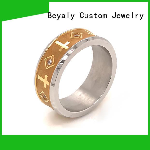 BEYALY Top popular wedding ring sets manufacturers for men