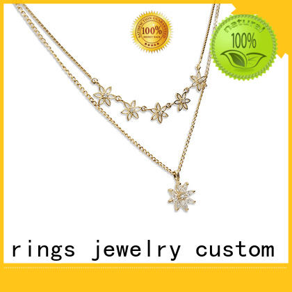 BEYALY hollow dog tag necklace design for ladies