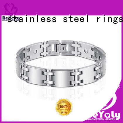BEYALY leaf silver cuff bangle for business for ceremony