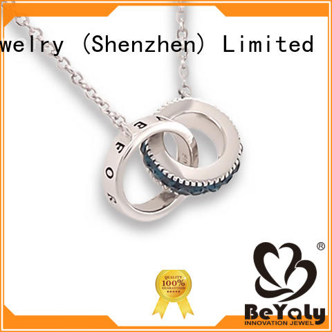 BEYALY initial dog tag necklace with good price for ladies