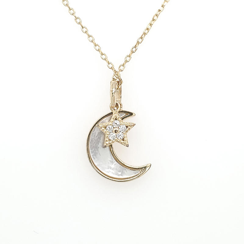 Best silver pendant necklace pendants Suppliers for wife-1