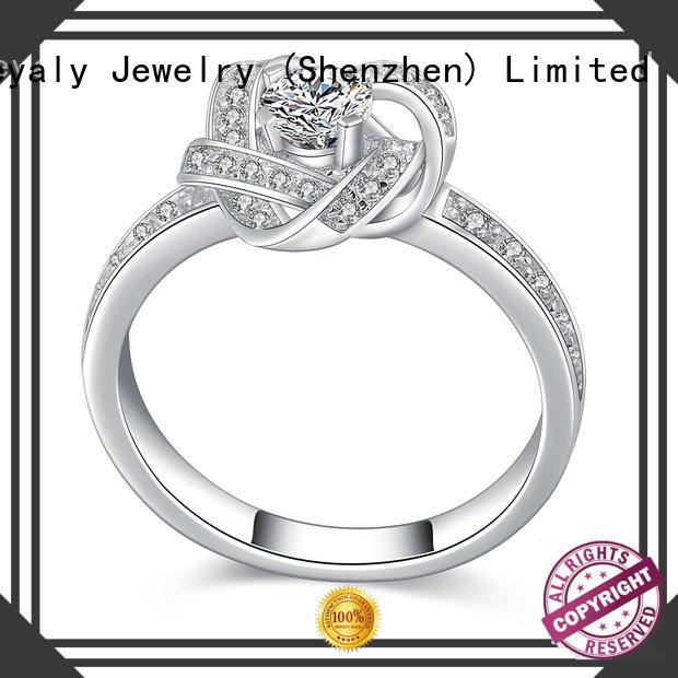 BEYALY anniversary platinum diamond rings sets for wedding