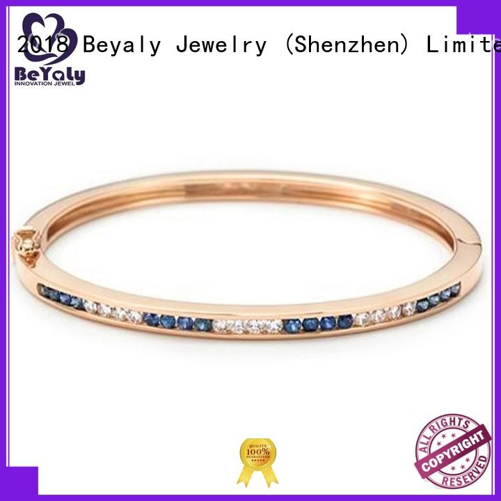 BEYALY popular cubic zirconia bracelet sets for advertising promotion