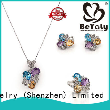 BEYALY Latest earrings necklace and bracelet set Suppliers