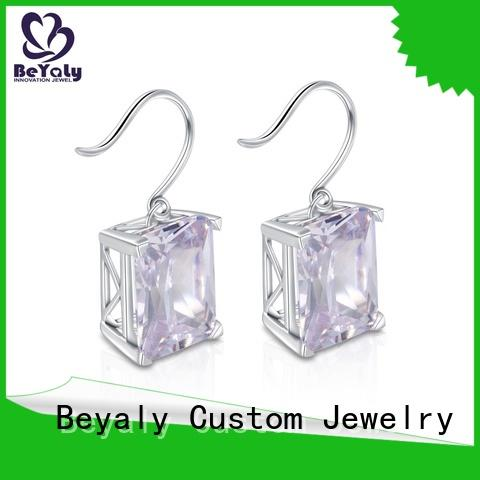 BEYALY white shop stud earrings manufacturers for women
